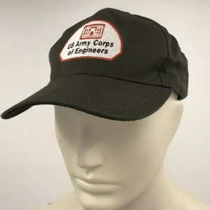 Army Corps Of Engineers Hat Ball Cap Green